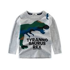 Children's cotton new <b>2019</b> spring boy cattle t-shirt <b>autumn</b> long ...