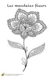 Coloriage Les Mandalas Fleurs Sur Hugo 12 Sur Hugolescargot Com Coloriage Mandalas Fleurs L