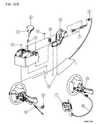 1994 dodge intrepid controls gearshift floor and column shift diagram 00000c8f