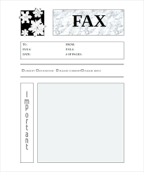 Free Printable Cover Letter For Fax