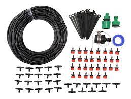 diy 25m micro drip irrigation system agriculture sprinkler garden plant flower watering tool kit