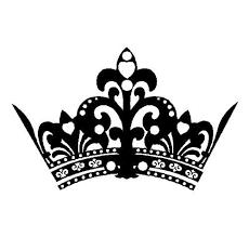 princess crown decal wall sticker