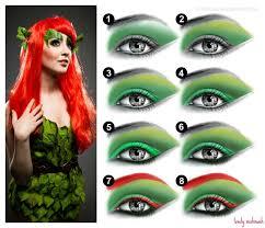 makeup tutorial jordan hanz poison ivy 5 jpg 1000 864 poison ivy makeupivy