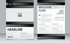 Flyer Design Free Brochure Design Template Annual Report Business Magazine Cover Book