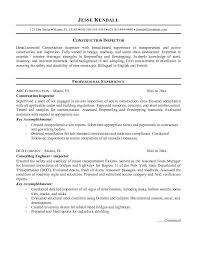 construction inspector resumes cover letter for investment analyst job cab driver resume template