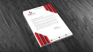 3d Letterhead Design Illustrator Tutorial Letterhead Design