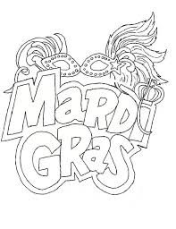 Small Picture The Carnival Season of Mardi Gras Coloring Page Download Print