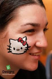 easy facepaint ideas face makeup designsmag 002