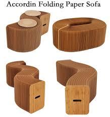 relaxing furniture. Home Furniture Softeating Modern Design Accordin Folding Paper Stool Sofa Chair Kraft Relaxing Foot Living