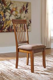 DSDC In By Ashley Furniture In Hancock MI Berringer Rustic - Brown dining room chairs