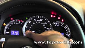 2014 Toyota Camry Warning Lights 2012 Toyota Camry Gauges How To By Toyota City Minneapolis Mn
