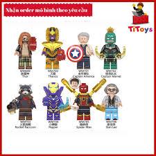 Mua Minifigures các siêu anh hùng End Game - Đồ chơi Lắp ghép Xếp hình Non  Lego WM6061 chỉ 18.000₫