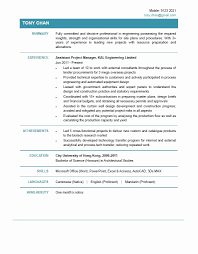Manager Resume Template Project Manager Resume Example Unique Resume Template Project 24