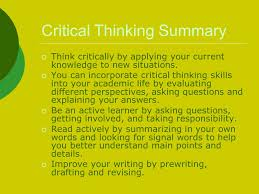 Critical thinking revision ocr    Contoh format resume