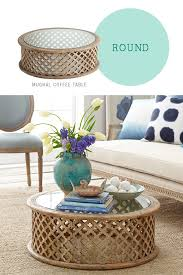 How To Style A Coffee Table   Round