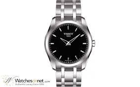 tissot couturier t035 446 11 051 00 men s stainless steel tissot couturier automatic men s watch stainless steel black dial t035 446 11 051 00
