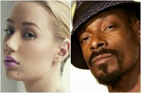 iggy azalea is not happy with snoop dogg over the weekend snoop posted the below meme of an albino woman to insram that reads iggy azalea no make up