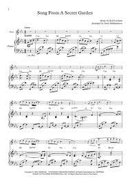 song from a secret garden flute piano