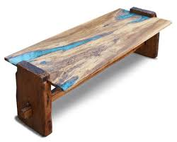 This coffee table started with a beautiful cross section of a white oak  stump. A