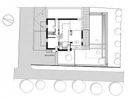 modern white house design for your lovely family modern cube house shape ground floor plan
