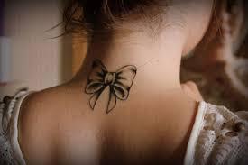 тату для девушек на шее татуировки 44 фото