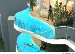 residential infinity pool. Exellent Pool Swimming Pool Balconies Inside Residential Infinity Pool
