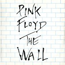 front cover white brick wall with the words pink floyd  on pink floyd the wall artwork artist with pink floyd archives russia soviet union discography