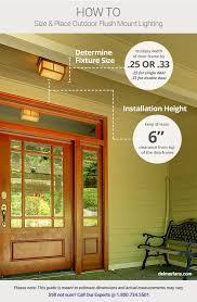 garage door lightsOutdoor Lighting Ideas  Tips Add Curb Appeal with Front Door