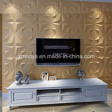 art modern sound proofing tv background 3d decorative wall board