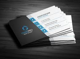Clean Modern Business Card - Business Cards
