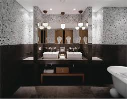 Nice Pictures Of Bathroom Glass Tile Accent Ideas - Mosaic bathrooms