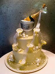 Champagne Birthday Cakes