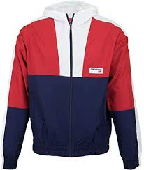 New Balance Athletics Windbreaker Team Red Inline ... - Amazon.com