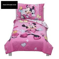 mickey mouse friends minnie mouse toddler 4pc bedding sets new