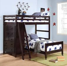 ... Modern Kids Bedroom Interior Decorating Design Ideas With Aspace Bunk  Beds : Endearing Parquet Flooring Kids ...