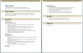 Entry Level .NET Developer Resume