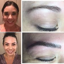 eyebrow microblading before and after. trista microblade before and after eyebrow microblading o