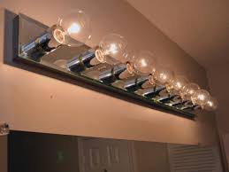 bathroom light globes. Globe Light Shade Led Bathroom Lights Vanity Mirror With Bulbs Around It Brushed Nickel Fixture Replacement Globes E