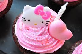 Red Velvet Cupcakes Hello Kitty Food Gypsy