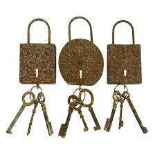 Bronze Wall Decor Woodland Imports 3 Piece Metal Key Wall Dccor Set Reviews Wayfair