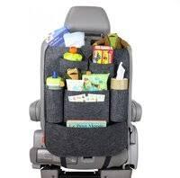 «<b>Органайзер на спинку сиденья</b> 3 sprouts Бульдог, цвет: серый ...