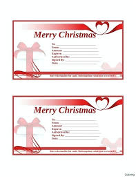 Custom Gift Certificate Templates Free Customizable Christmas Gift Certificate Template Pepino Co
