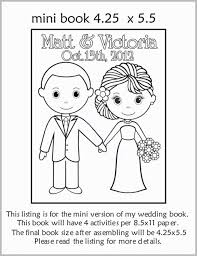 Coloring Pages Coloring And Activity Book Fabulous Wedding