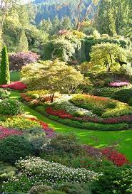 butchart gardens beautiful gardens