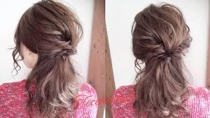 三つ編みクルリンパ大人可愛いヘアアレンジtecchannel Youtube