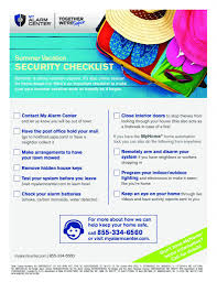 The Essential Summer Vacation Security Checklist
