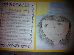 my best friend step into nd grade i was pretty impressed how well my kiddos did i chose the topic of ldquomy best friendrdquo because it is very personal for them and they love talking about
