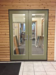 andersen e series out swing french door with blinds