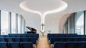 Church Interior Design Rocco Design Architects Creates Skyscraper Church In Hong Kong