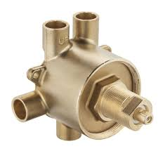 moen brass commercial 3 function transfer shower valve 1 2 in cc